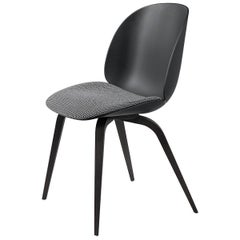 Beetle Dining Chair, Seat Upholstered, American Walnut