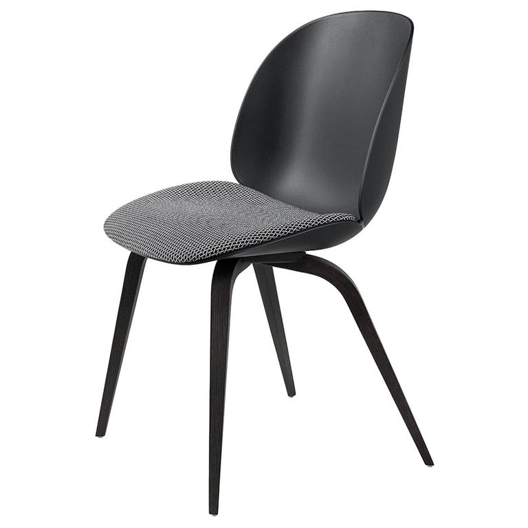 Beetle Dining Chair, Seat Upholstered, Natural Oak For Sale