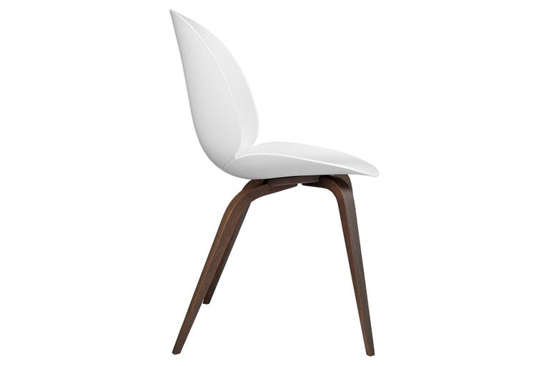 Mid-Century Modern Beetle Dining Chair, Un-Upholstered,  American Walnut For Sale