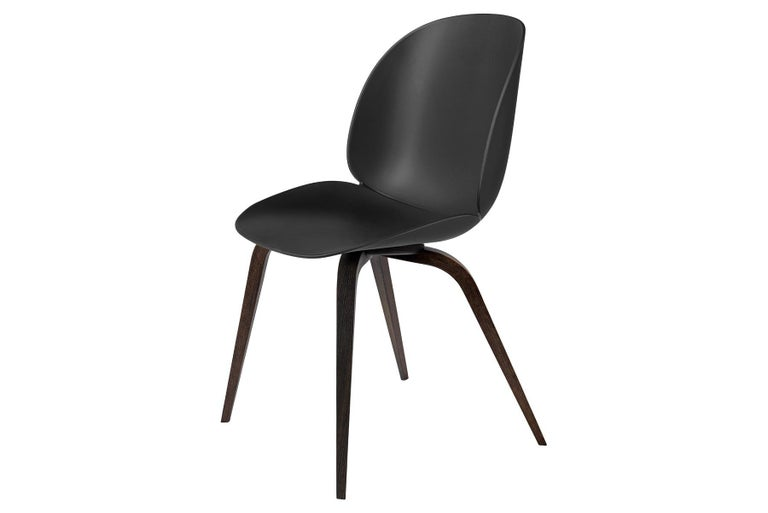 Danish Beetle Dining Chair, Un-Upholstered,  American Walnut For Sale