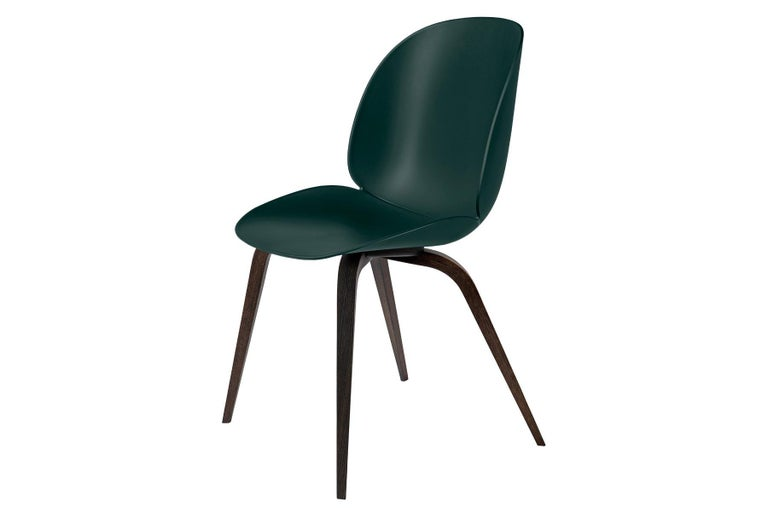 Oiled Beetle Dining Chair, Un-Upholstered,  American Walnut For Sale