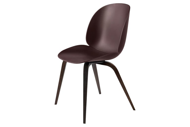 Beetle Dining Chair, Un-Upholstered,  American Walnut In New Condition For Sale In Berkeley, CA