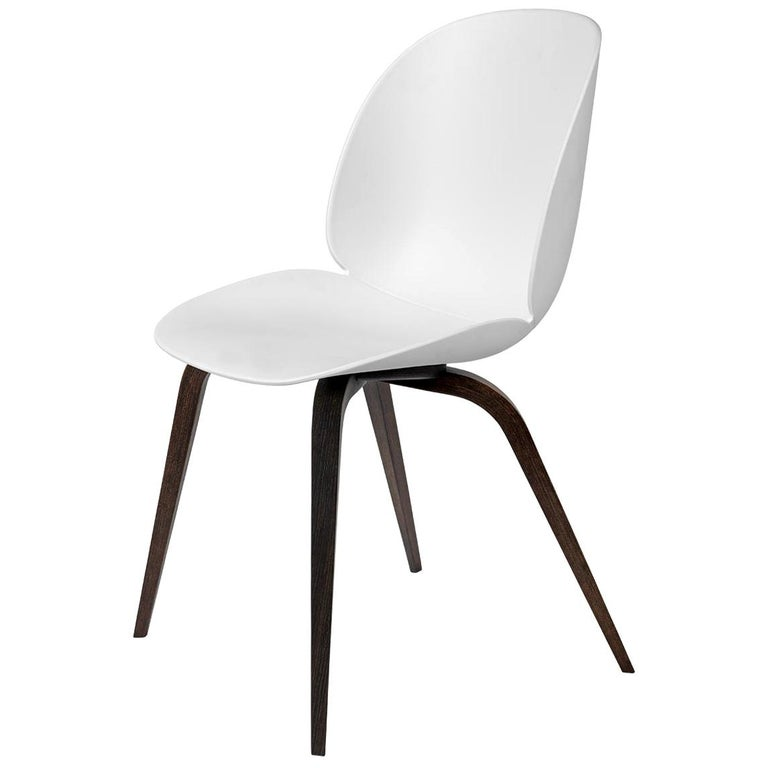 Beetle Dining Chair, Un-Upholstered,  American Walnut For Sale