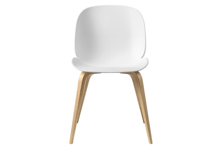 Unglazed Beetle Dining Chair, Un-Upholstered, Natural Oak For Sale