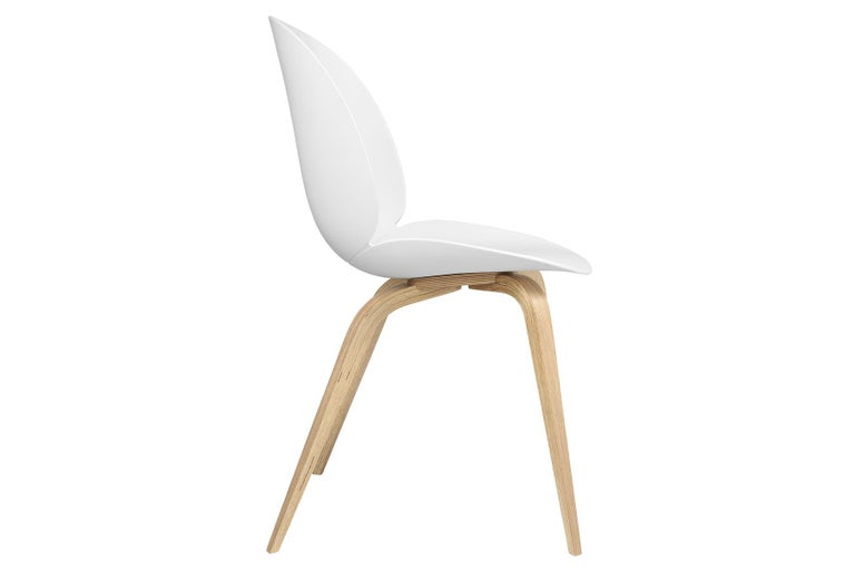 Beetle Dining Chair, Un-Upholstered, Natural Oak In New Condition For Sale In Berkeley, CA