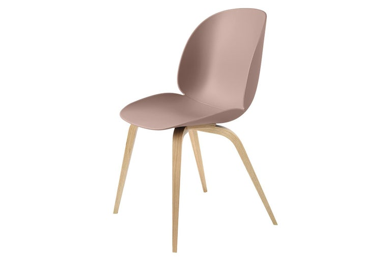 Beetle Dining Chair, Un-Upholstered, Natural Oak For Sale 1