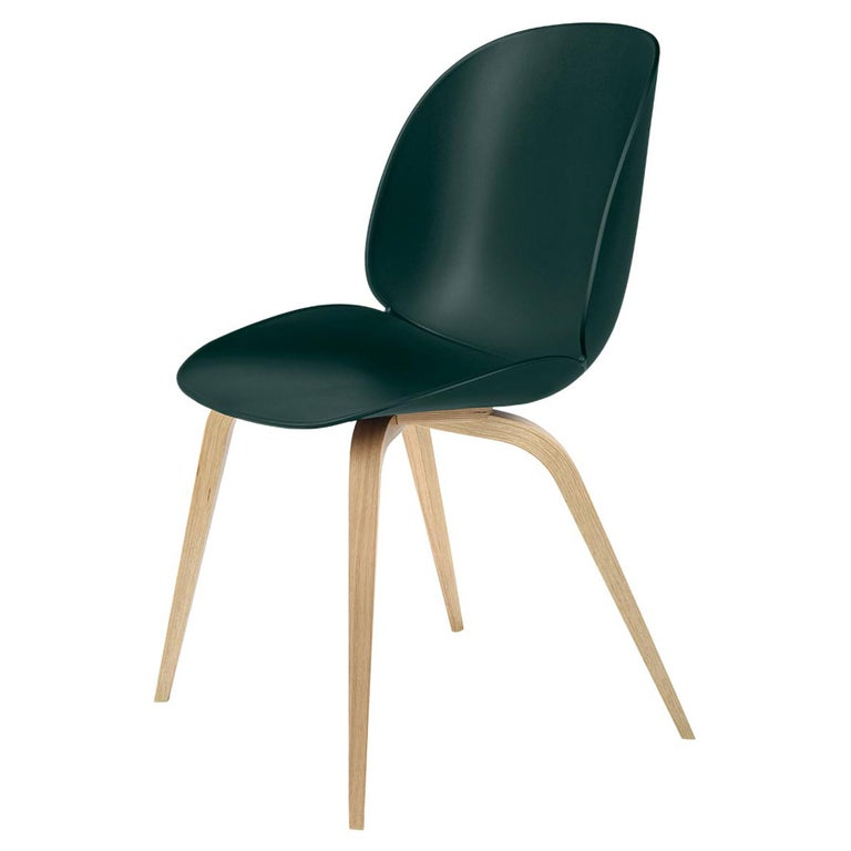 Beetle Dining Chair, Un-Upholstered, Natural Oak For Sale