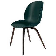Beetle Dining Chair, Un-Upholstered, Smoked Oak