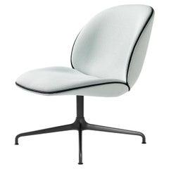 Beetle Lounge Chair, Fully Upholstered, 4- Star Base, Black Matt