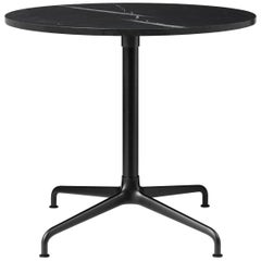 Beetle Lounge Table, Round, 4 Star Base, Large, Marble