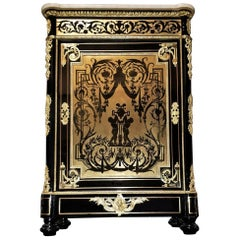 Befort Jeune Boulle Napoleon III Cabinet, France, 19th Century