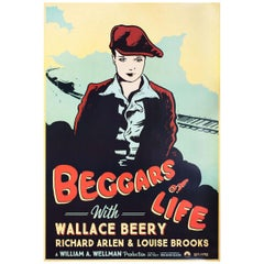 Beggars of Life R2017 U.S. One Sheet Film Poster
