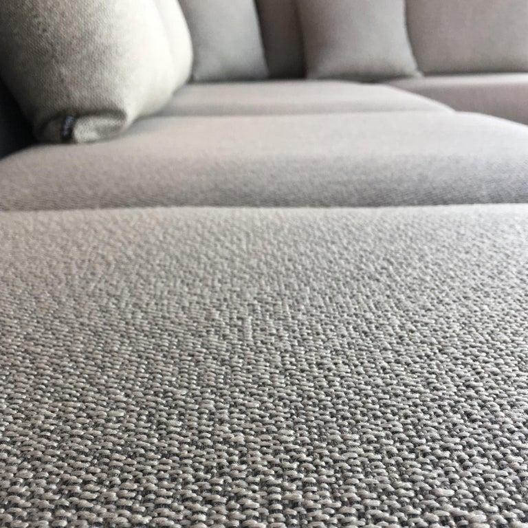 Italian Begin Grey Outdoor Sofa, Designed by Angeletti Ruzza For Sale