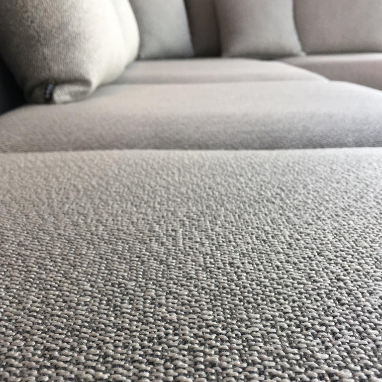 Italian Begin Grey Outdoor Sofa by Angeletti Ruzza Made in Italy In stock in Los Angeles For Sale