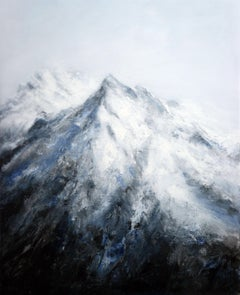 Alpine Landscape III, Painting, Acrylic on Canvas