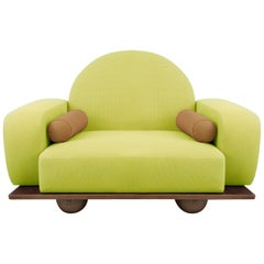 Beice Armchair Neon Yellow
