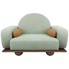 Beice Armchair Mint Green