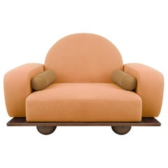 Beice Armchair Orange