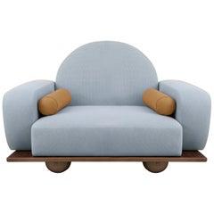 Beice Armchair Pastel Blue