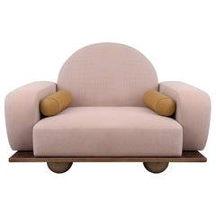 Beice Armchair Pastel Pink