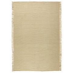 Beige Flat-Weave Rug