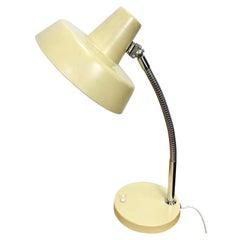 Beige Gooseneck Table Lamp, 1960s