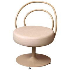 Beige O Chair by Sema Topaloglu