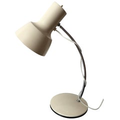 Beige Table Lamp by Josef Hurka for Napako, 1960s