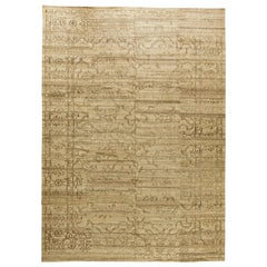 Beige Traditional Oriental Inspired Rug