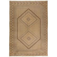 Beige Vintage Moroccan, Kilim Rug