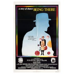 """""""Being There"""", 1980 U.S. One Sheet Film Poster"""