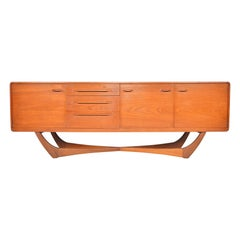 Beithcraft Credenza with Floating X-Form Base