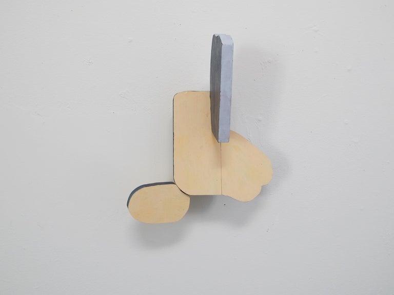 Landing - Abstract Geometric Sculpture by Beka Goedde