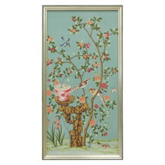 Bel Aire Cerulean Chinoiserie Framed Art