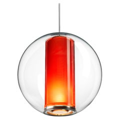 Bel Occhio Pendant Light in Orange by Pablo Designs