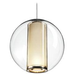Bel Occhio Pendant Light in White by Pablo Designs