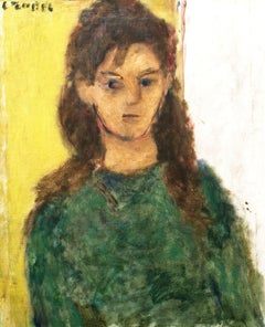 Young Girl in Green