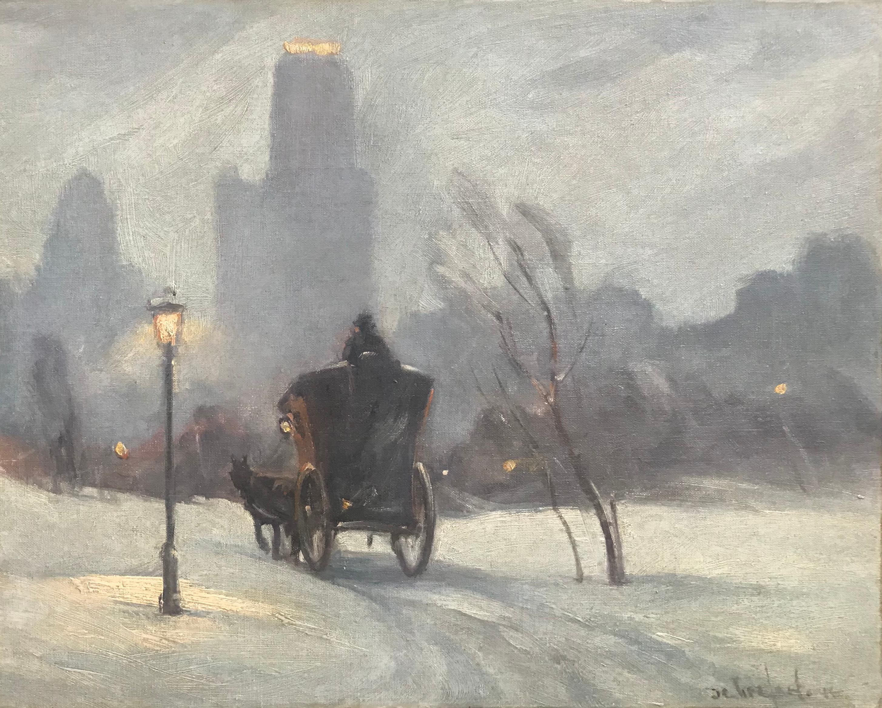 """""""Hansom Carriage, Central Park"""""""