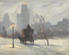 """Hansom Carriage, Central Park"""