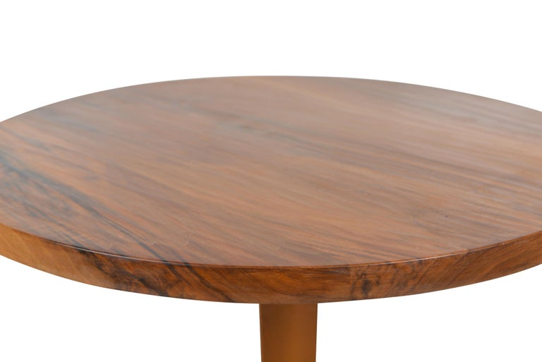 Belgian Art Deco Bistro Table Cast Iron, 1920 In Good Condition For Sale In Sint-Kruis, BE