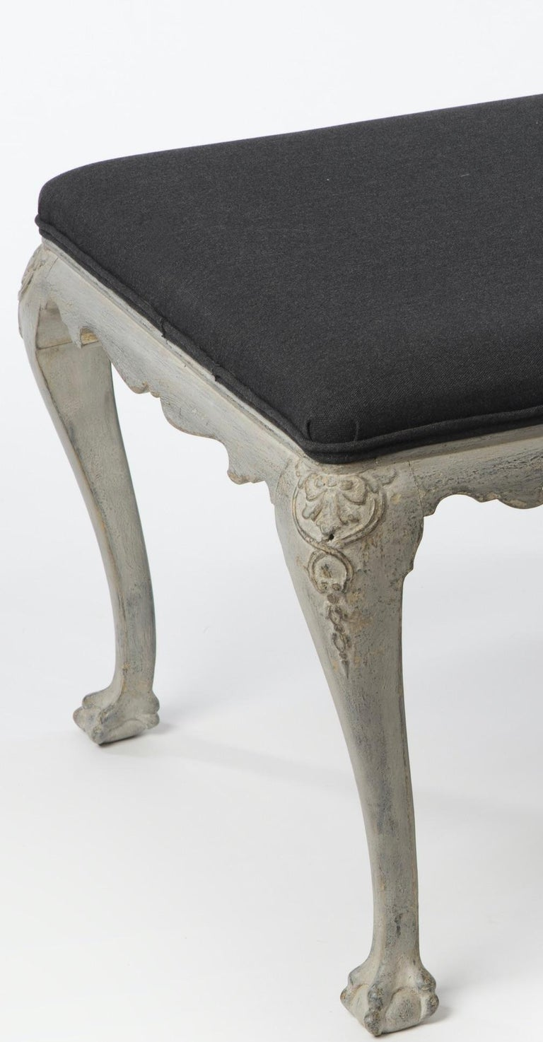 Gustavian Belgian Banquette / Bench For Sale