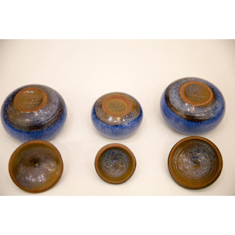Belgian Ceramic Pots by Antonio Lampecco 10