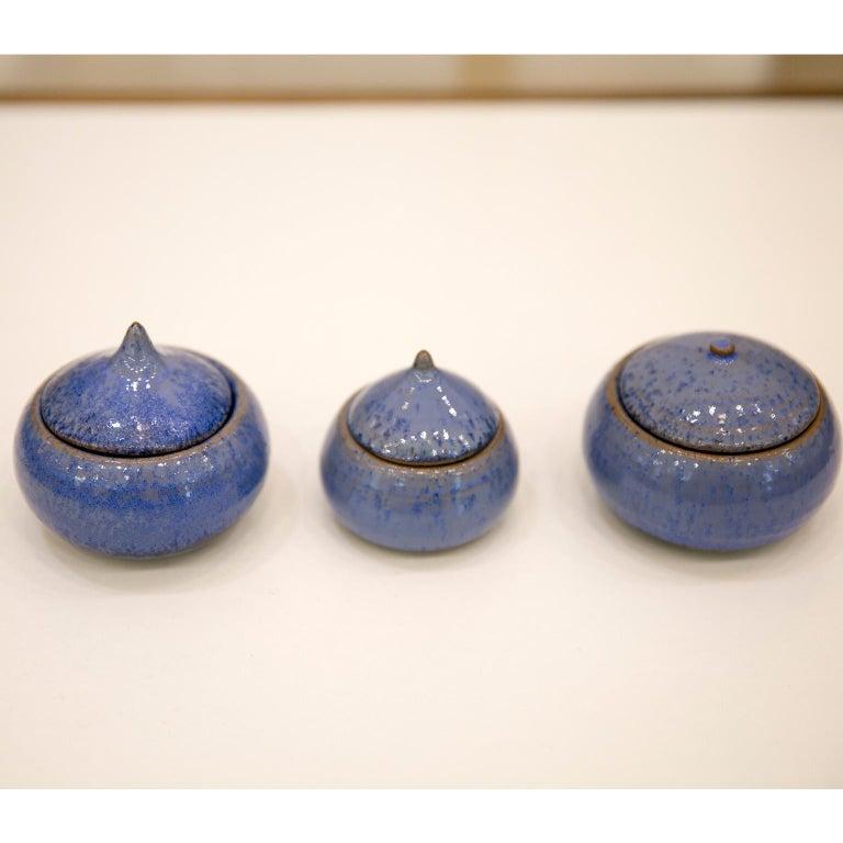 Belgian Ceramic Pots by Antonio Lampecco 12