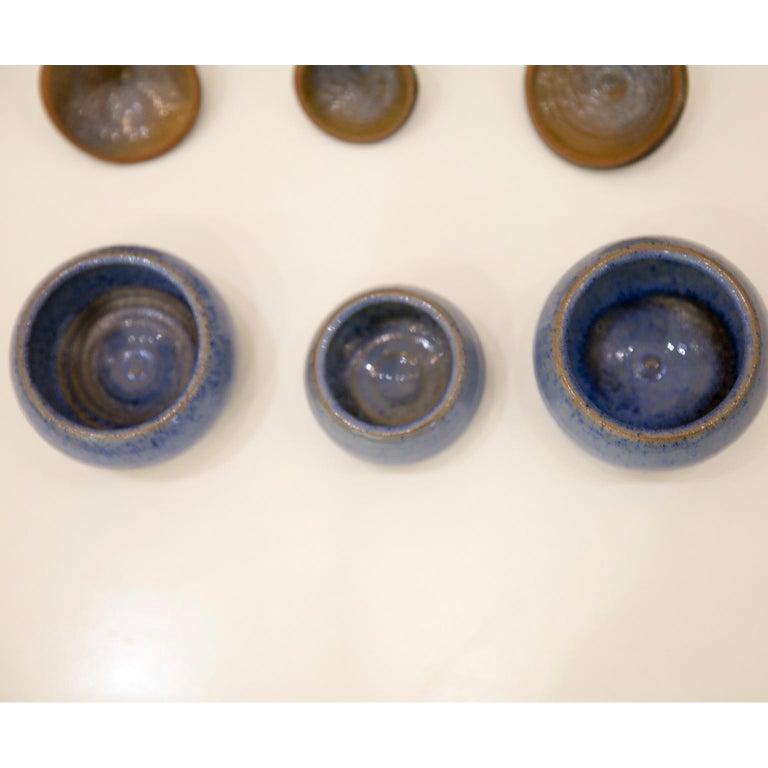 Belgian Ceramic Pots by Antonio Lampecco 8