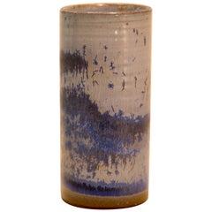 Belgian Ceramic Vase by Antonio Lampecco