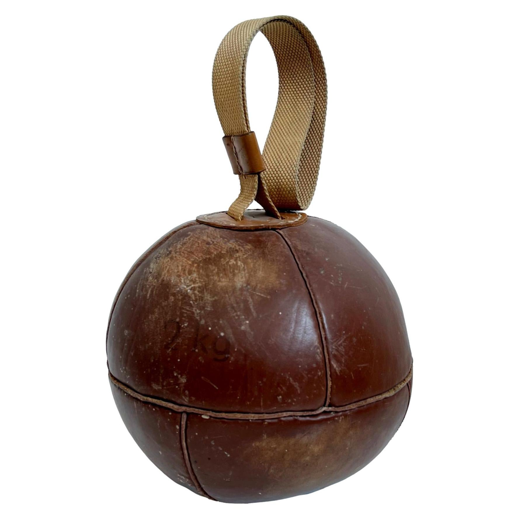 Belgian Leather Ball Weight
