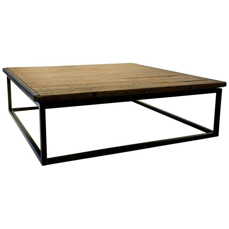 Belgian Pallet Coffee Table For Sale At 1stdibs