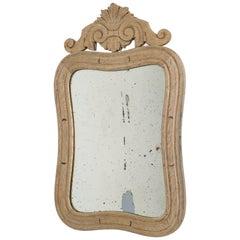 Belgian Bleached Oak Mirror
