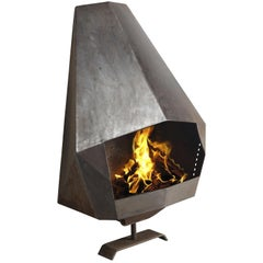 Belgian Wall-Mounted Fire Place, 1980s