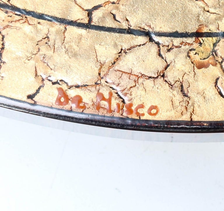 Belgium Mid-Century Modern Coffee Table with Tiles by Denisco, 1970s For Sale 1